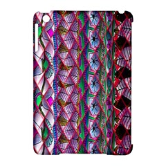 Textured Design Background Pink Wallpaper Of Textured Pattern In Pink Hues Apple Ipad Mini Hardshell Case (compatible With Smart Cover) by BangZart