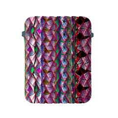 Textured Design Background Pink Wallpaper Of Textured Pattern In Pink Hues Apple Ipad 2/3/4 Protective Soft Cases by BangZart
