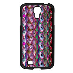 Textured Design Background Pink Wallpaper Of Textured Pattern In Pink Hues Samsung Galaxy S4 I9500/ I9505 Case (black) by BangZart