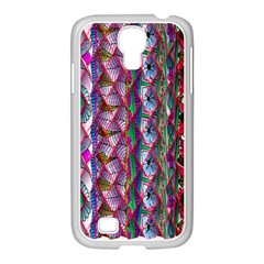 Textured Design Background Pink Wallpaper Of Textured Pattern In Pink Hues Samsung Galaxy S4 I9500/ I9505 Case (white)
