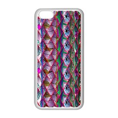 Textured Design Background Pink Wallpaper Of Textured Pattern In Pink Hues Apple Iphone 5c Seamless Case (white) by BangZart