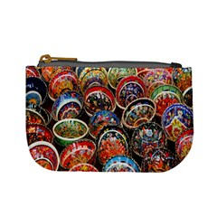 Colorful Oriental Bowls On Local Market In Turkey Mini Coin Purses