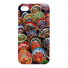 Colorful Oriental Bowls On Local Market In Turkey Apple Iphone 4/4s Hardshell Case by BangZart