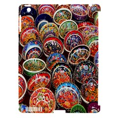 Colorful Oriental Bowls On Local Market In Turkey Apple Ipad 3/4 Hardshell Case (compatible With Smart Cover) by BangZart