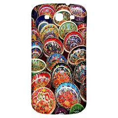 Colorful Oriental Bowls On Local Market In Turkey Samsung Galaxy S3 S Iii Classic Hardshell Back Case by BangZart