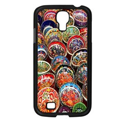 Colorful Oriental Bowls On Local Market In Turkey Samsung Galaxy S4 I9500/ I9505 Case (black) by BangZart