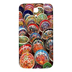 Colorful Oriental Bowls On Local Market In Turkey Samsung Galaxy Mega I9200 Hardshell Back Case by BangZart