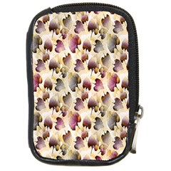 Random Leaves Pattern Background Compact Camera Cases