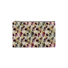 Random Leaves Pattern Background Cosmetic Bag (small)  by BangZart