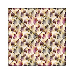 Random Leaves Pattern Background Acrylic Tangram Puzzle (6  X 6 ) by BangZart