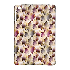 Random Leaves Pattern Background Apple Ipad Mini Hardshell Case (compatible With Smart Cover) by BangZart