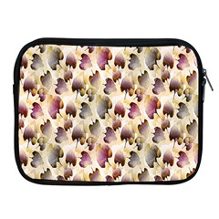 Random Leaves Pattern Background Apple Ipad 2/3/4 Zipper Cases by BangZart
