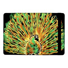 Unusual Peacock Drawn With Flame Lines Samsung Galaxy Tab Pro 10 1  Flip Case by BangZart