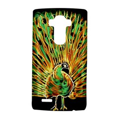 Unusual Peacock Drawn With Flame Lines Lg G4 Hardshell Case by BangZart