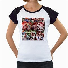 Colorful Oriental Candle Holders For Sale On Local Market Women s Cap Sleeve T by BangZart