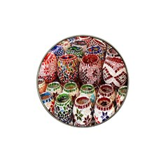 Colorful Oriental Candle Holders For Sale On Local Market Hat Clip Ball Marker (10 Pack)