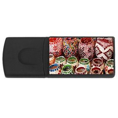 Colorful Oriental Candle Holders For Sale On Local Market Usb Flash Drive Rectangular (4 Gb)