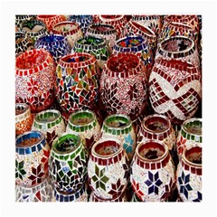 Colorful Oriental Candle Holders For Sale On Local Market Medium Glasses Cloth (2 Side) by BangZart