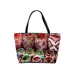 Colorful Oriental Candle Holders For Sale On Local Market Shoulder Handbags by BangZart