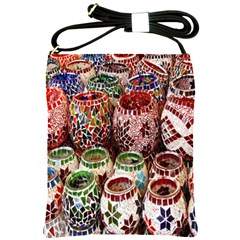 Colorful Oriental Candle Holders For Sale On Local Market Shoulder Sling Bags by BangZart