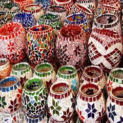Colorful Oriental Candle Holders For Sale On Local Market Magic Photo Cubes by BangZart