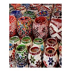 Colorful Oriental Candle Holders For Sale On Local Market Shower Curtain 60  X 72  (medium)  by BangZart