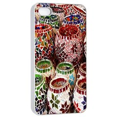 Colorful Oriental Candle Holders For Sale On Local Market Apple Iphone 4/4s Seamless Case (white) by BangZart