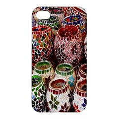 Colorful Oriental Candle Holders For Sale On Local Market Apple Iphone 4/4s Hardshell Case by BangZart