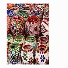 Colorful Oriental Candle Holders For Sale On Local Market Small Garden Flag (two Sides)