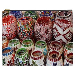 Colorful Oriental Candle Holders For Sale On Local Market Cosmetic Bag (xxxl)  by BangZart