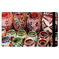 Colorful Oriental Candle Holders For Sale On Local Market Apple Ipad 3/4 Flip Case by BangZart