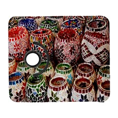 Colorful Oriental Candle Holders For Sale On Local Market Galaxy S3 (flip/folio) by BangZart