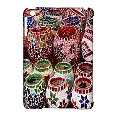 Colorful Oriental Candle Holders For Sale On Local Market Apple Ipad Mini Hardshell Case (compatible With Smart Cover) by BangZart