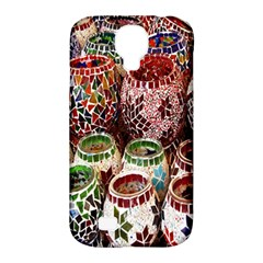 Colorful Oriental Candle Holders For Sale On Local Market Samsung Galaxy S4 Classic Hardshell Case (pc+silicone)