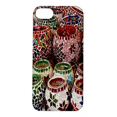 Colorful Oriental Candle Holders For Sale On Local Market Apple Iphone 5s/ Se Hardshell Case by BangZart