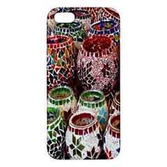 Colorful Oriental Candle Holders For Sale On Local Market Iphone 5s/ Se Premium Hardshell Case by BangZart