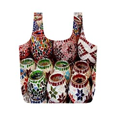 Colorful Oriental Candle Holders For Sale On Local Market Full Print Recycle Bags (m)  by BangZart