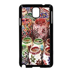 Colorful Oriental Candle Holders For Sale On Local Market Samsung Galaxy Note 3 Neo Hardshell Case (black)