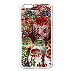 Colorful Oriental Candle Holders For Sale On Local Market Apple Iphone 6 Plus/6s Plus Enamel White Case