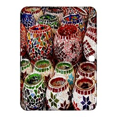 Colorful Oriental Candle Holders For Sale On Local Market Samsung Galaxy Tab 4 (10 1 ) Hardshell Case