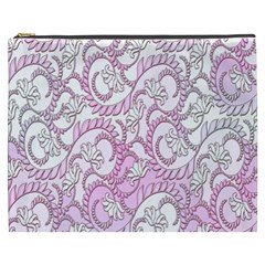 Floral Pattern Background Cosmetic Bag (xxxl)  by BangZart