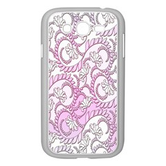 Floral Pattern Background Samsung Galaxy Grand Duos I9082 Case (white) by BangZart