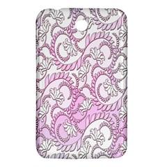 Floral Pattern Background Samsung Galaxy Tab 3 (7 ) P3200 Hardshell Case