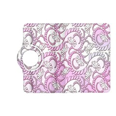 Floral Pattern Background Kindle Fire Hd (2013) Flip 360 Case by BangZart
