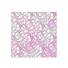 Floral Pattern Background Satin Bandana Scarf by BangZart