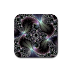 Precious Spiral Rubber Square Coaster (4 Pack)  by BangZart