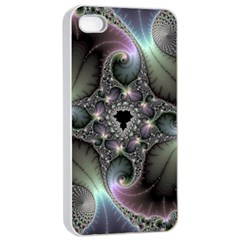 Precious Spiral Apple Iphone 4/4s Seamless Case (white) by BangZart