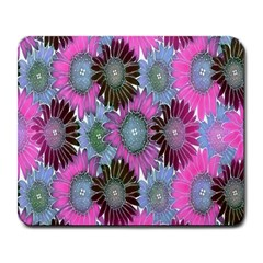 Floral Pattern Background Large Mousepads by BangZart