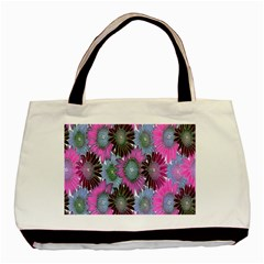 Floral Pattern Background Basic Tote Bag by BangZart