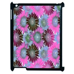 Floral Pattern Background Apple Ipad 2 Case (black) by BangZart